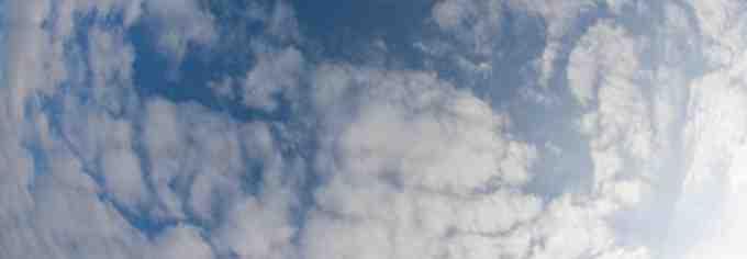 Comment fabriquer des nuages en coton ?