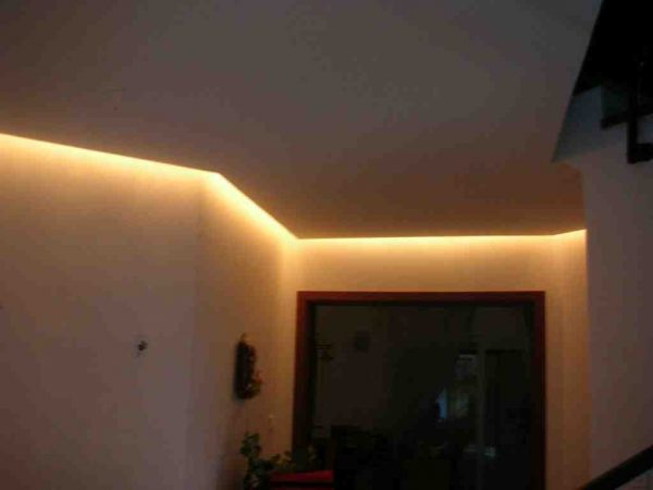 Comment faire un Eclairage indirect au plafond ?