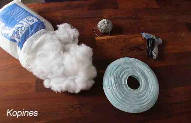 Comment faire des nuage avec du coton ?
