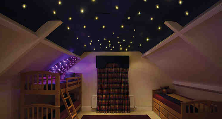 Comment faire un faux plafond Etoilé ?